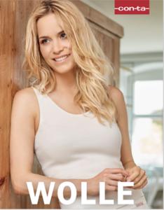 Conta Wol Modal keuze voor korte, lange mouw of een spencer model